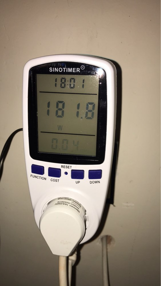 7 Modes LCD Display Electricity Usage Monitor Power Meter EU Plug Home Energy Watt Volt Amps Wattage KWH Consumption Analyzer