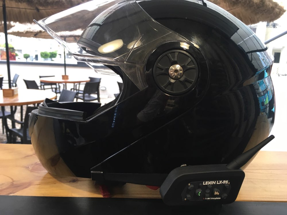 Lexin, новинка 2017, 2 шт., 1200 м., мотоциклетный интерком в шлем, Bluetooth, для 6 ездоков, BT, беспроводной интеркомуникатор, гарнитуры для переговоров, MP3