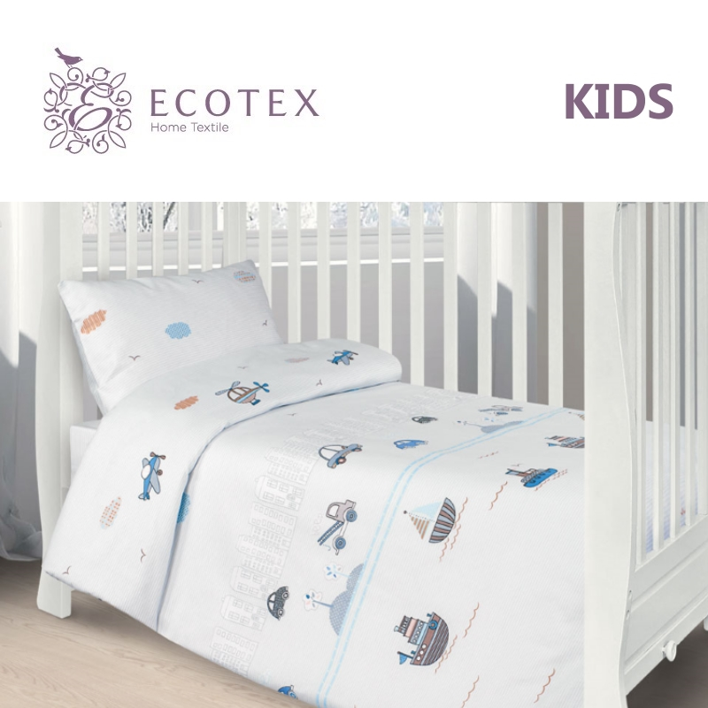 Фото - Baby bedding Small town,100% Cotton. Beautiful, Bedding Set from Russia, excellent quality. Produced by the company Ecotex flower print bedding set