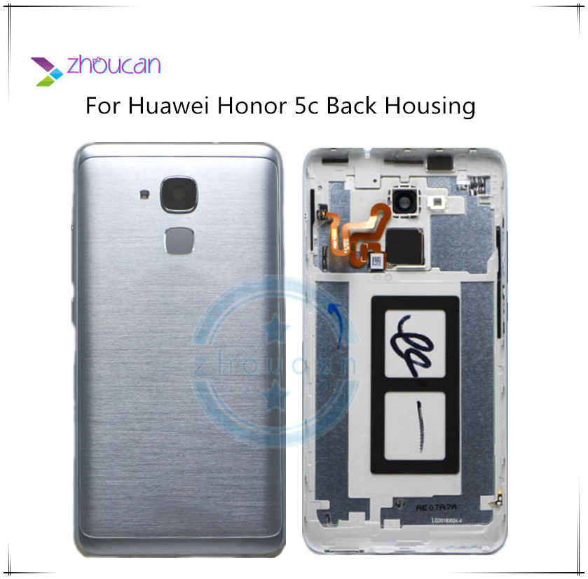 Housing Honor Huawei Flash-Cover Replacement Battery-Back Repair-Spare-Parts Door Metal