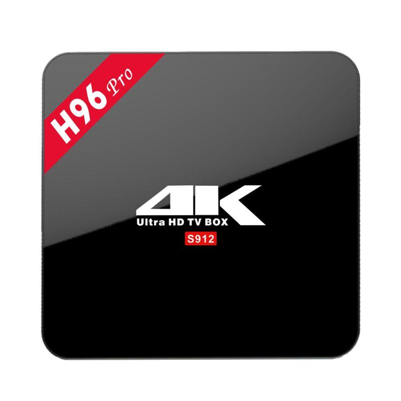 H96 pro plus android 7.1 TV Box 2GB/3GB 16GB Amlogic S912 Octa Core 2.4G/5.8G WiFi H.265 4K Smart TV box H96 Pro+ 2GB/3GB 16GB android 7 1 amlogic s912 h96 pro plus tv box with 2gb 3gb ram 16gb 32gb rom supports 4k hdr h 265 kd 17 3 set top boxes