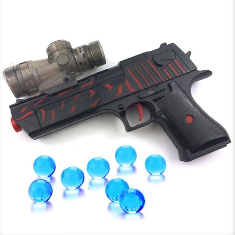 Hot Sell Manual Water Bombs Soft Bullet Dual-use EVA Bullets Toy Gun Orbeez Paintball Airsoft Air Guns Boy Toys Birthday Gifts