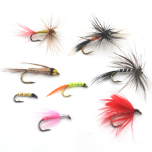 MNFT 56Pcs Mixed Nymphs Mayfly Trout Flies Wet Dry Various Flies Fishing Hook Trout Flies Fly Fishing