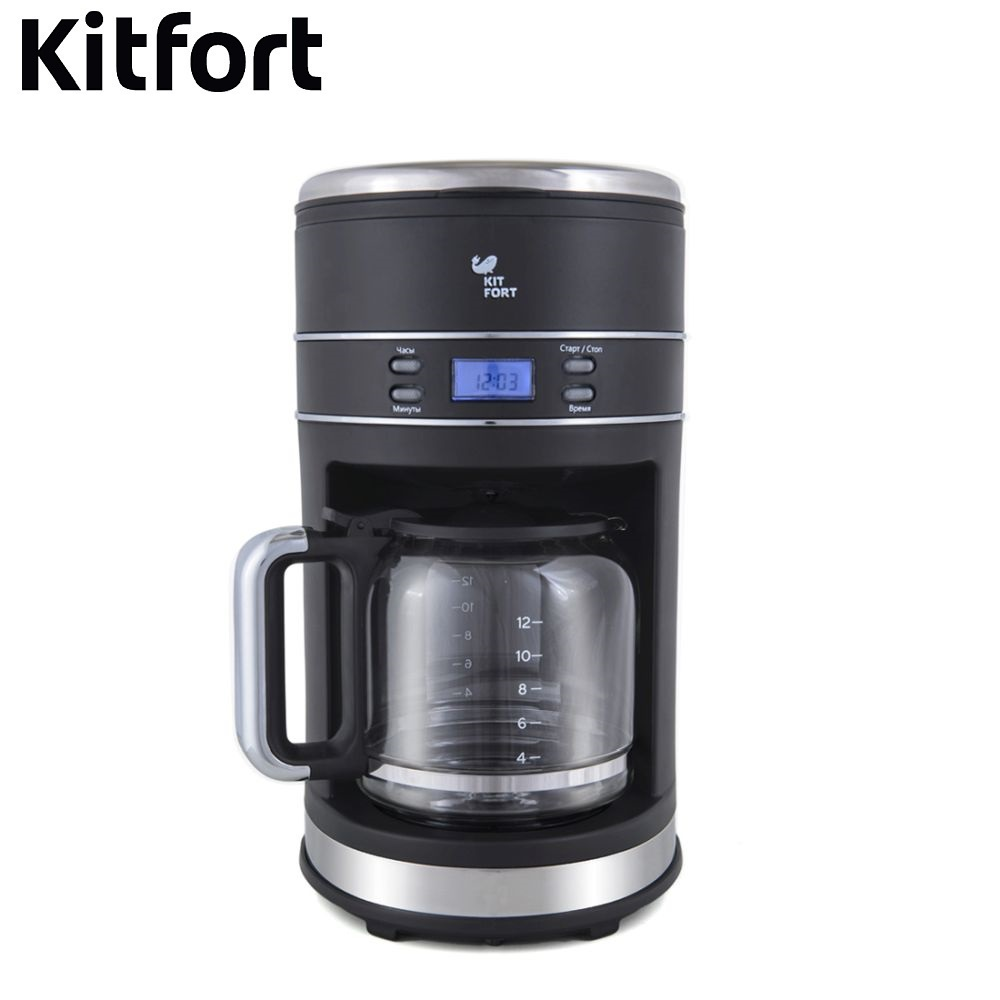 Coffee Maker Kitfort KT-704 kitchen automatic pump Coffee machine espresso Coffee Machines Coffee maker Electric coffee machines delonghi esam6904 m coffee espresso machines coffee maker home grain automatic 0 0 12