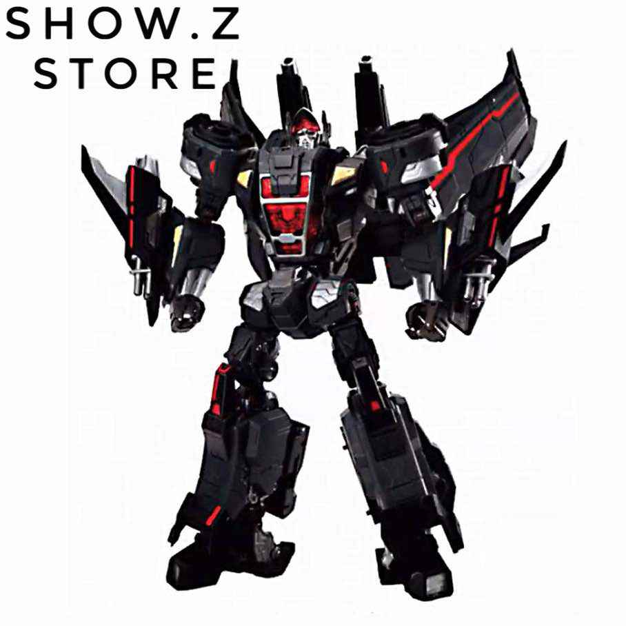 [Show.Z Store] Maketoys MT MTCD-05 Buster Skywing Jetfire Skyfire Black Version Transformation Action Figure[Show.Z Store] Maketoys MT MTCD-05 Buster Skywing Jetfire Skyfire Black Version Transformation Action Figure