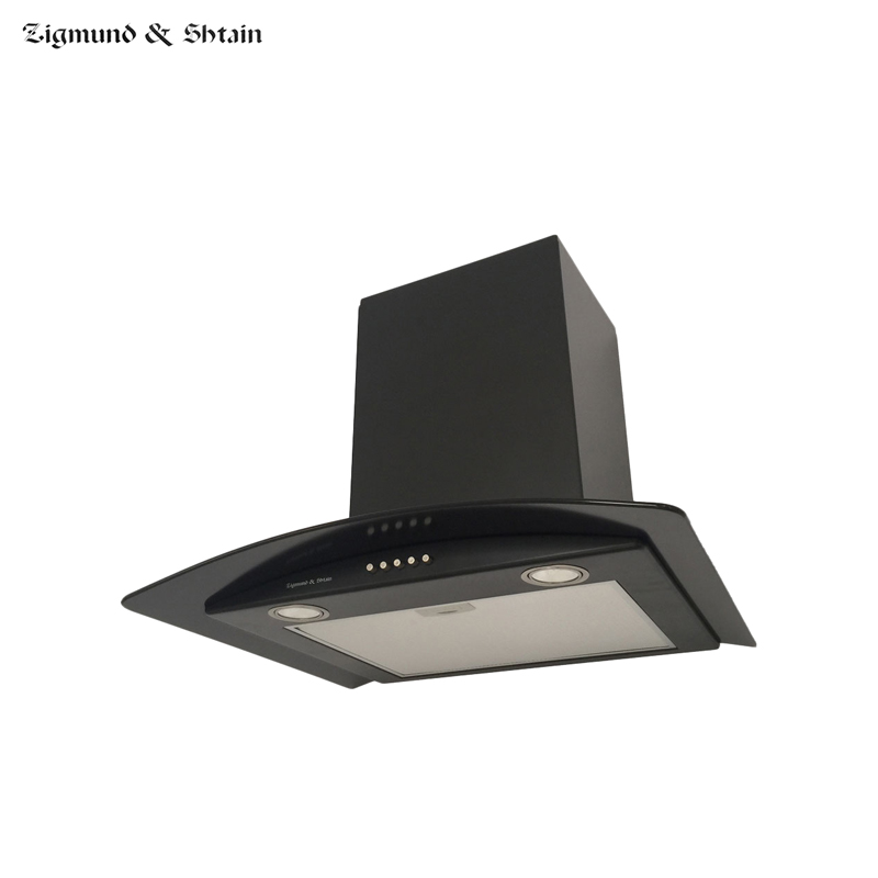 Fireplace Hood Zigmund&Shtain K 296.61 B Home Appliances Major Appliances Range Hoods For Kitchen