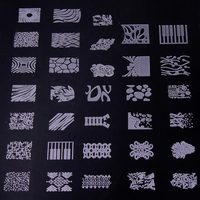 1Sheets Nail Art Stamping Tips Toes Care Beauty Manicure Plate Nail Art Stamp Templates DIY Polish