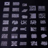 1 Hojas Nail Art Consejos Pies Cuidado de Belleza Manicura Plate Stamping Nail Art Sello Plantillas DIY Imagen de Uñas Plantilla de Impresión