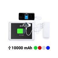 Power Bank con Triple USB 10000 mAh