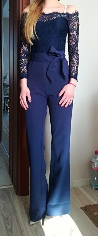 'Sweet Revenge' Lace Jumpsuit photo review