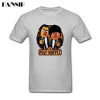 Men Tshirt Fashion White Short Sleeve Custom Tee Shirts Men S Pulp Muppet Street Adult Clothing