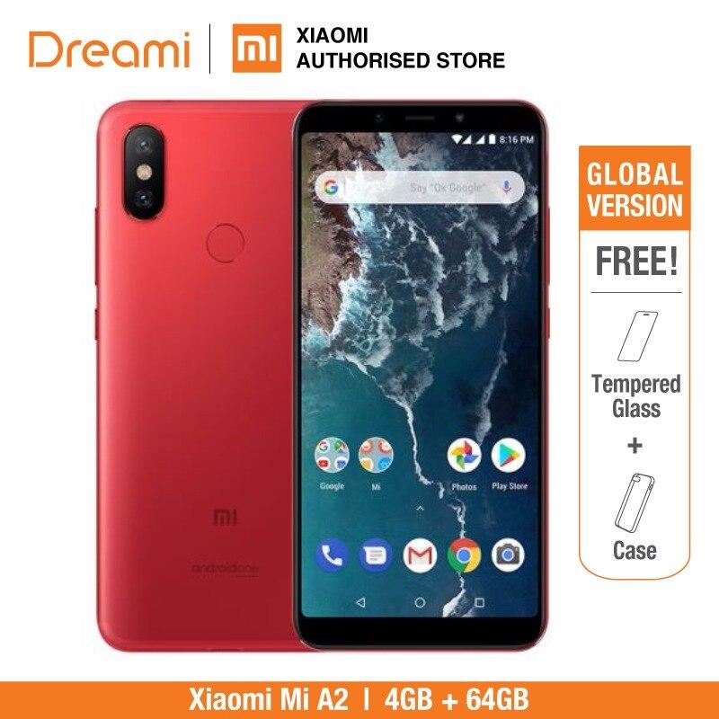 Versión Global Xiaomi mi A2 64 GB ROM 4 GB RAM (nuevo y sellado) mi A2 64 GB rojo