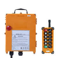Original TELECRANE Wireless Industrial Remote Controller Electric Hoist Remote Control 1 Transmitter + 1 Receiver F23-BB