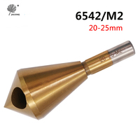 HSS 6542 M2 Countersink Deburring Drill Bit 20 25MM Metal Taper Stainless Steel Hole Saw Cutter