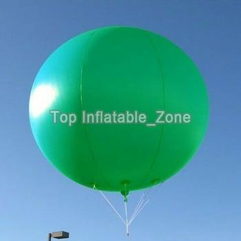 2M Diameter Advertising Balloon 0.18mm PVC Helium Balloon for sale Customized Sky Balloon For Advertising