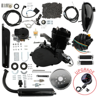 80cc 2 Stroke Pedal Cycle Petrol Gas Motor Conversion Kit Air Cooling Motorized Engine Kit for Motorized Bike Motor Replacement