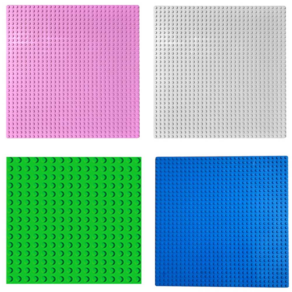 Educational Building Block Assembles Particles For DIY Enlighten <font><b>Baseplate</b></font> <font><b>32x32</b></font> Studs Small Studs Brick Accessories image