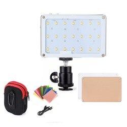 Sokani x21 led na câmera luz de vídeo bolso tamanho oled tela construir em 1600 mah bateria para sony nikon canon vs aputure AL-M9