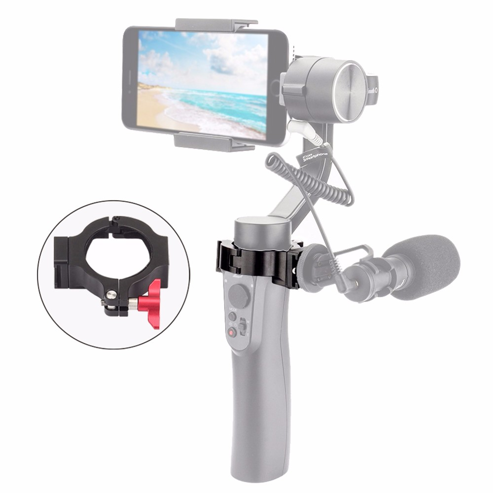 все цены на EACHSHOT Q-Ring Hot Shoe Adapter mount for Zhiyun Smooth Q Applied to Rode Microphone LED Video Light Filmmaker Vlog (ring only) онлайн