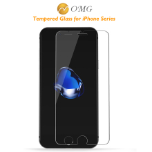 OMG 9H tempered glass For iphone 5s 5 4s 5c SE 6 6s plus 7 plus screen protector protective film front case cover + clean kit
