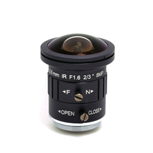 """2/"""" CS Mount объектив «рыбий глаз» Новая F1.6 8MP 4K 2,5 мм Объективы для видеонаблюдения ИК-коррекция 8 мегапиксельная линза для видеонаблюдения UHD IP Камера SL-HDR2516IR"""