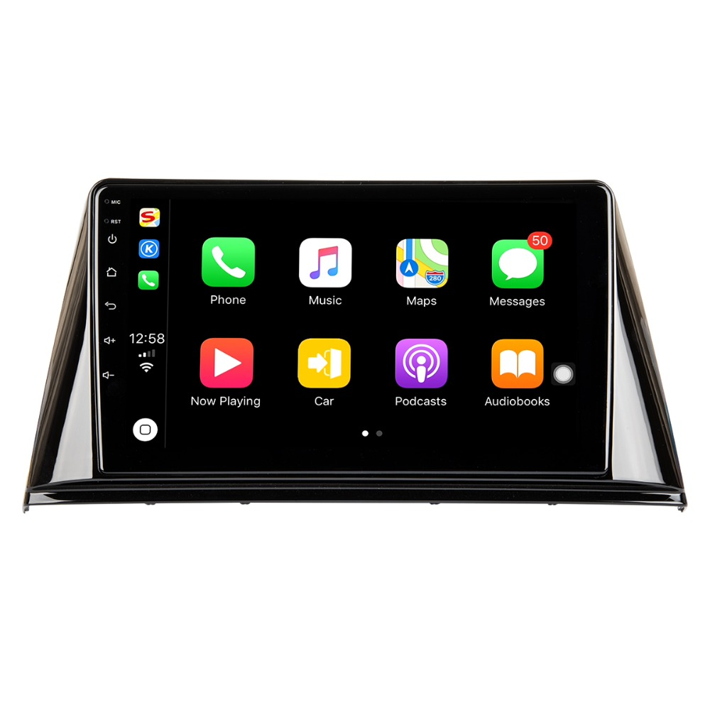 9-inch Screen iTouch (TM) Series <font><b>Android</b></font> <font><b>8.0</b></font> Headunit Upgrade Autoradio Multimedia Player For <font><b>Peugeot</b></font> <font><b>308</b></font> GPS Navigation image