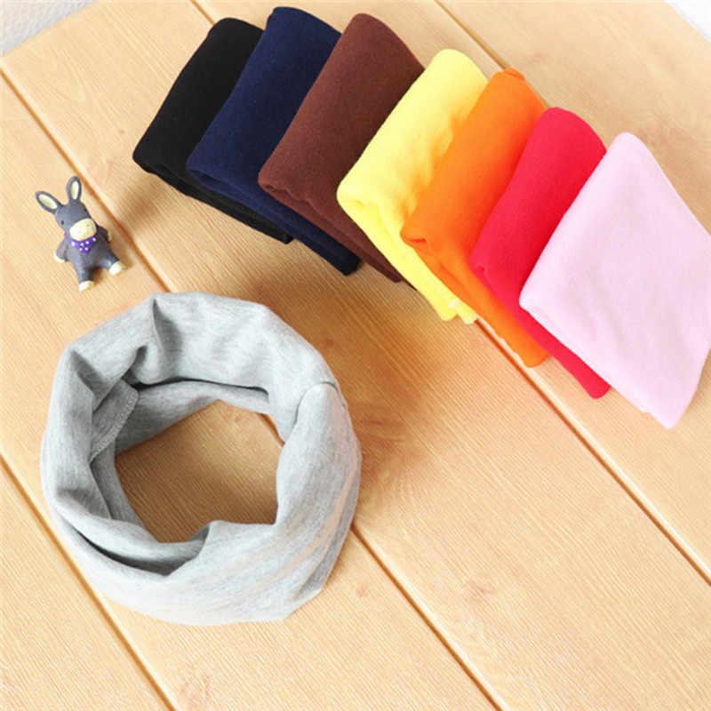21 colores nueva bufanda de bebé de algodón niños bufanda niños cuello Chief Otoño Invierno cuello collares bebé niñas bufanda Accesorios
