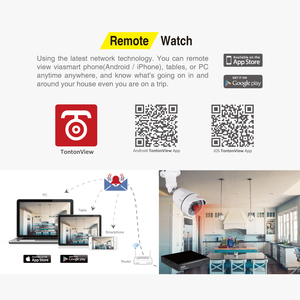 Image 5 - Tonton 8CH CCTV Camera Security System Kit 720P 1080N DVR Waterproof Outdoor Security Camera Home Security Video Surveillance
