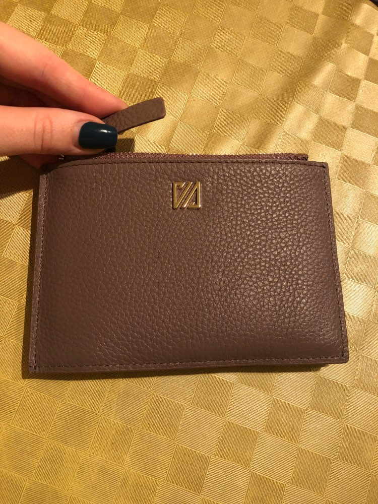 16 Card Slots Genuine Leather Women Card Holders Fashion Brand Women Leather Card Wallet Female Credit Card Holders Business photo review