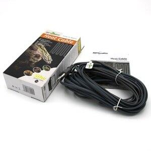 Image 5 - Водонепроницаемый силиконовый резиновый тепловой кабель для рептилий 220 В для обогрева живого дна комнат домашних животных 15 Вт 25 Вт 50 Вт 80 Вт