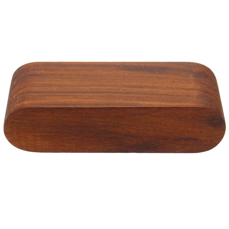 KiWarm Wooden Desk Countertop Business Card Holder Organizer Display ...