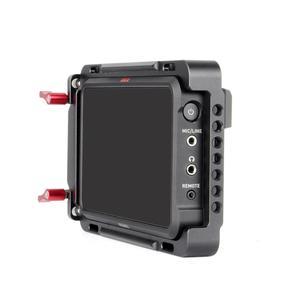 "Image 4 - EachRig צג כלוב עם מובנה נאט""ו רכבת נוסף HDMI כבל מהדק עבור Atomos צג Ninja V"