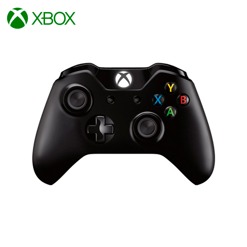 Microsoft Xbox One Wireless Controller gamepad black round neck lantern sleeves dress