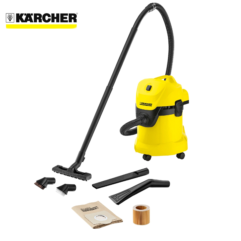 Vacuum cleaner wet and dry KARCHER WD 3 Car Vac cvc01 2 free shipping car vacuum cleaner portable handheld wet