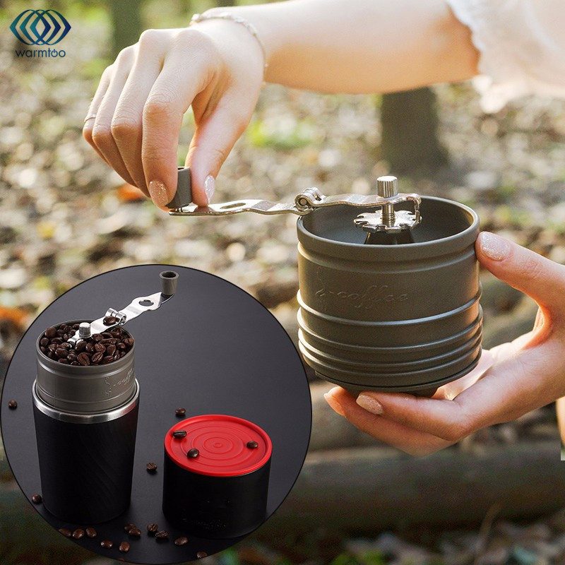 230ml  Portable Coffee Grinding Machine Camping Travel 4 In 1 Brewed Coffee Bean Grinder Hand Manual Handmade Bean Mill Mug термокружка emsa travel mug 360 мл 513351