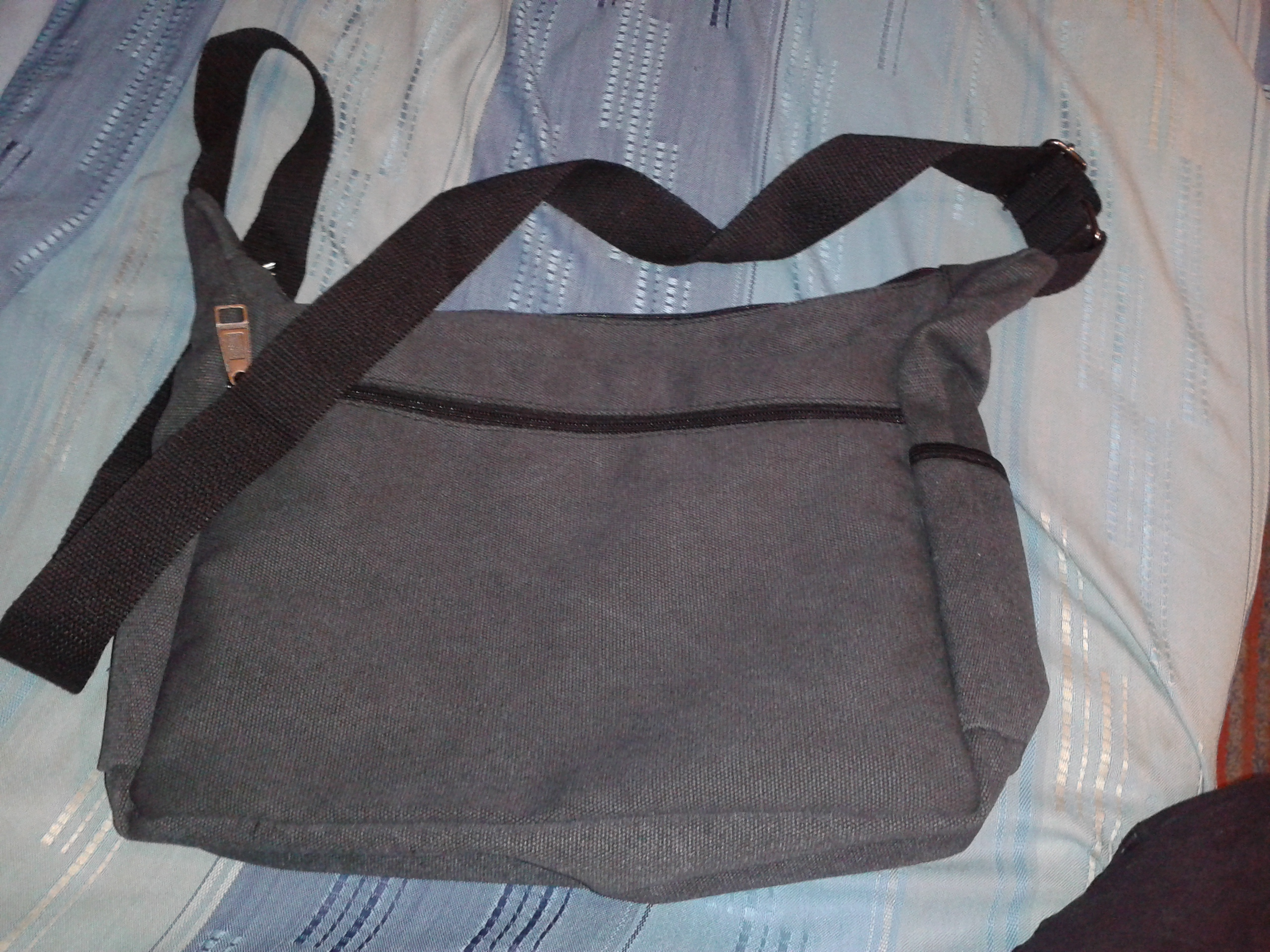 Men's Casual Handbags Canvas High Quality Clutch Solid Phone Purse Crossbody School Bag Flap Sac A Main Simple Male Bags Travel photo review