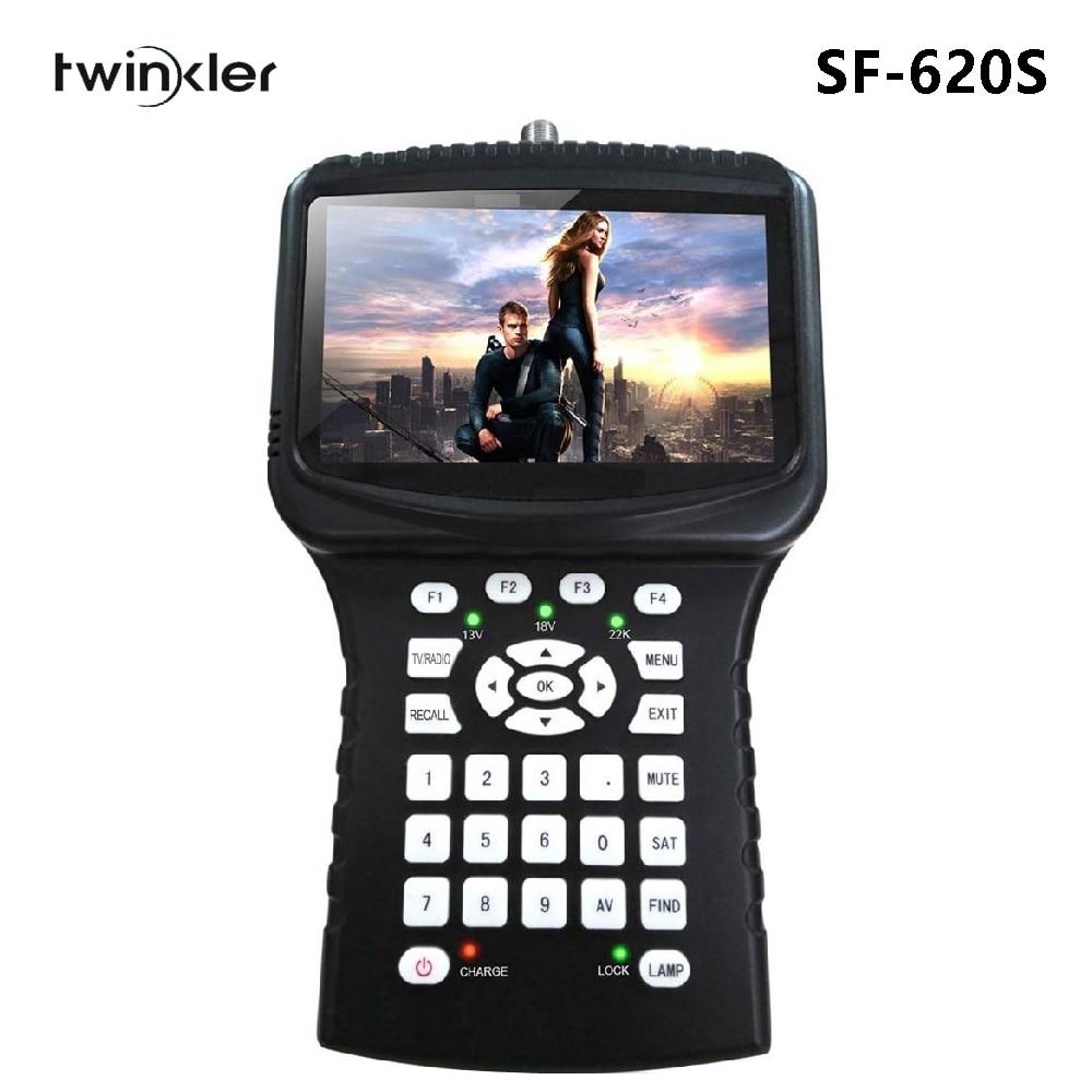 HD Satellite Finder Twinkler SF-620S With 4.3 Inch Screen Support Spectrum Analyzer USB WiFi CCTV Camera Monitor Satelite Finder