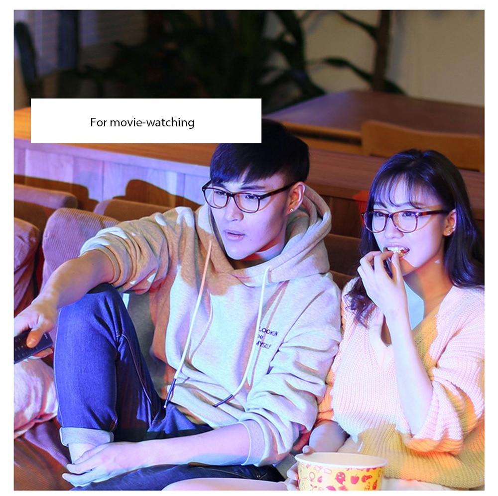 Xiaomi Mijia Qukan W1 ROIDMI B1 desmontable Anti-azul-rayos protección de ojo de vidrio Protector para hombre mujer jugar teléfono/computadora/juegos - 2