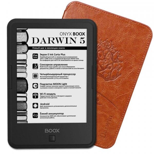 E-book reader ONYX BOOX DARWIN 5 (BLACK) e book onyx boox euclid black
