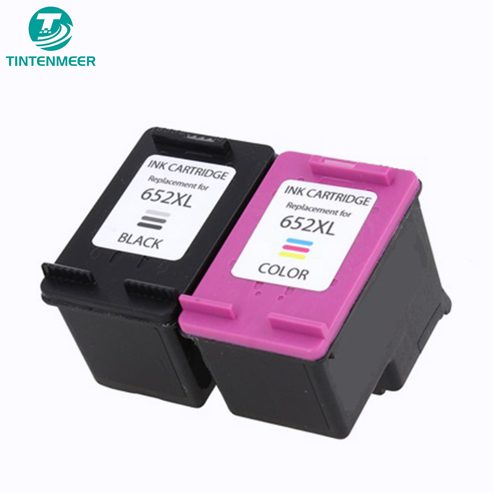 TINTENMEER premium quality <font><b>ink</b></font> cartridge 652 compatible for <font><b>hp</b></font> <font><b>1115</b></font> 2135 3635 3775 3785 3787 3790 3835 4535 4675 5275 printer image