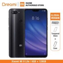 Küresel Sürüm Xiao mi mi 8 Lite 128 GB 6 GB Ram (Marka yeni Ve Mühürlü) mi 8 lite