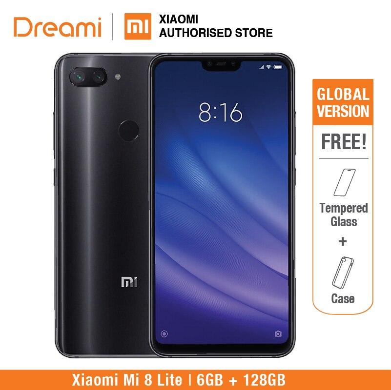 Versión Global Xiaomi Mi 8 Lite 128GB 6GB RAM (1 año de garantía del vendedor) Nuevo y Sellado, mi8 lite