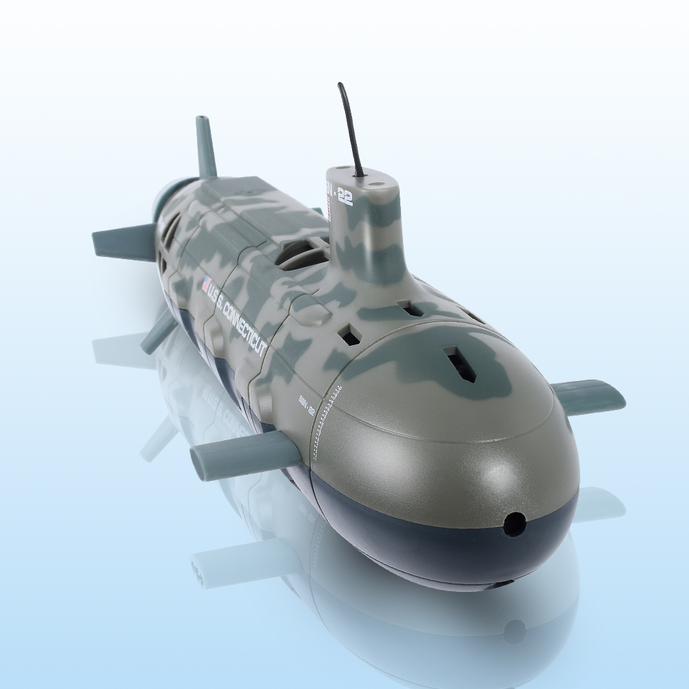 New Seawolf Remote Control Submarine RC Sub Boat 13000 U.S.S RC 6-Channel Model Nuclear Energy ...