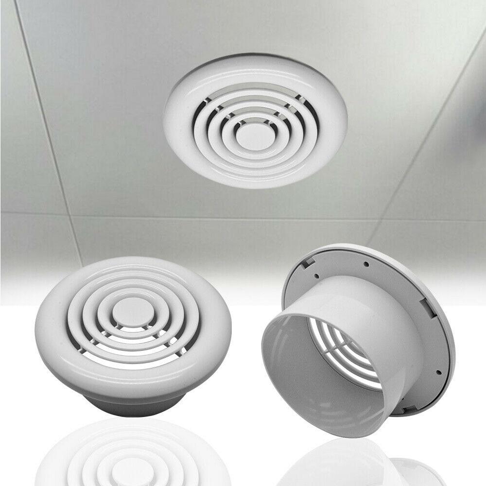 Вентиляционная вентиляционная решетка клапана круглый диффузор воздуховод вентиляционная Крышка 100 мм вентиляционное отверстие