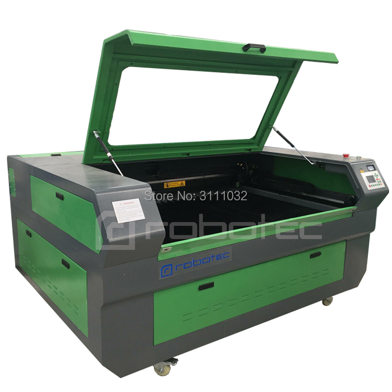 80w Reci 1325 CNC CO2 Laser Cutting Machine With Ruida System Free Shipping To Your Port