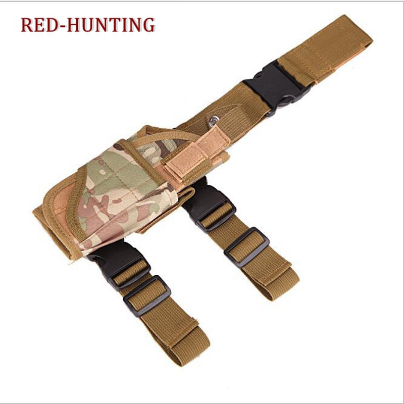 2020 New Tactical Hunting Puttee Thigh Drop Leg Pistol Gun Pouch Bag Gun Holster Molle With Magazine Pouch For  Makarov PM