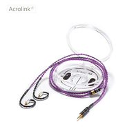 Acrolink 1.2m High Qulity Single Crystal Silver DIY Replacement Earphone Cable With MMCX For 2.5 XLR