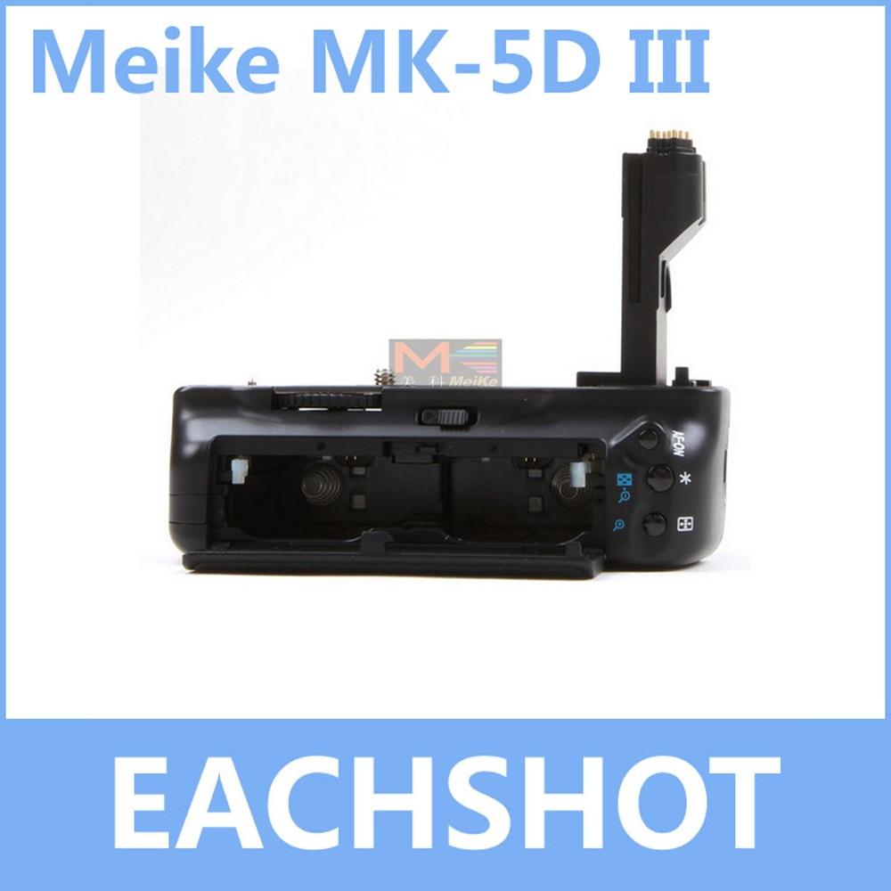 MeiKe MK 5D3 MK 5DIII BG E11 BGE11 Battery Holder Grip For Canon 5D Mark III