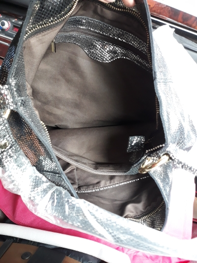 Arliwwi merk echt leer luxe Serpentine 100% echte koe lederen elegante multi functionele grote schoudertassen voor vrouwen photo review