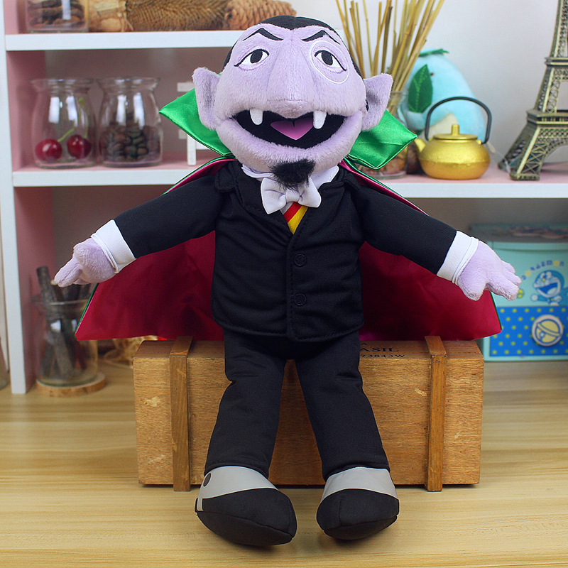 Sesame Street The Count Von Count Plush Toy Earl Of Vampire